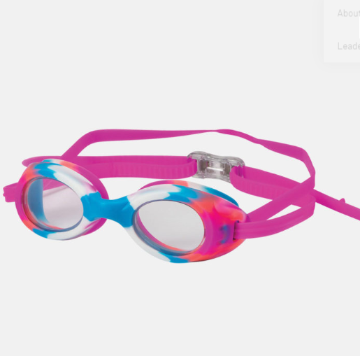Stingray Adult Regular Pink & Blue Goggles